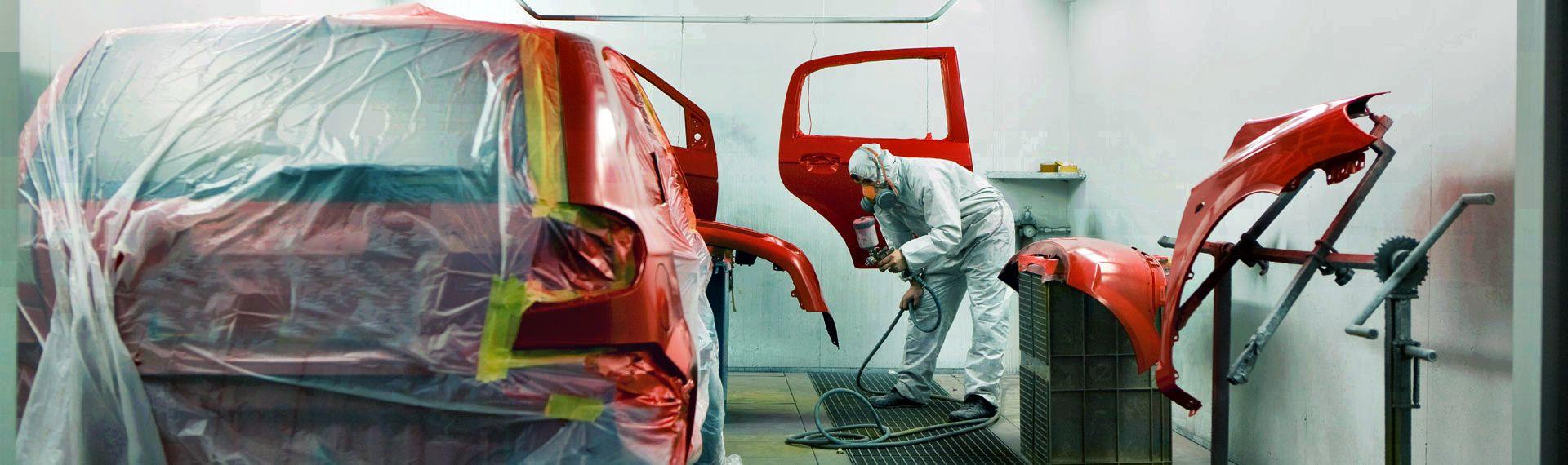 Покраска легковых автомобилей